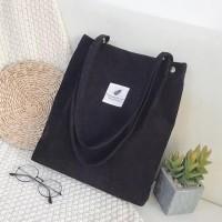 Korean Corduroy Tote Bag / Tas Selempang Bahu Wanita | TB-10