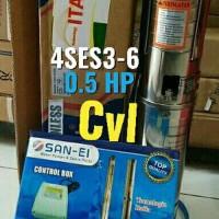"Pompa air Satelit 4SES3-6 / celup "" SAN - EI "" 0.5HP ( Big Promo"