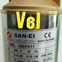 Pompa air Satelit 0.75hp SAN- EI Submersible york 4in k Big Promo