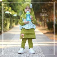 Uliya Legging Set - Baju Anak Kekinian - Setelan Blouse Lucu 5-6thn