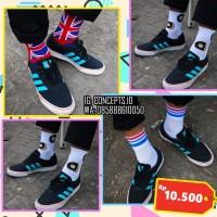 Kaos kaki skate pendek kaos kaki motif kaos kaki donat england