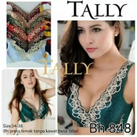 Bh Bra Penekan Lemak Samping Tanpa Kawat Busa Tebal Push Up Tally 848