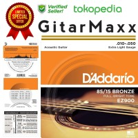 Senar Gitar Akustik D'Addario 010 type EZ900
