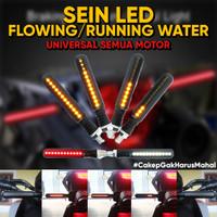 Lampu SEIN LED SEN Model Flowing Running Berjalan Universal Motor