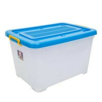 Shinpo 116 Container Mega Box Plastik CB 130 Liter Dengan Roda by