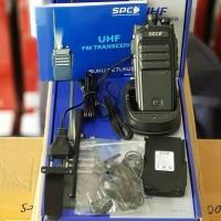 HT SPC SH10 UHF HANDY TALKIE SINGLE BAND WALKIE TALKIE ADA IJIN
