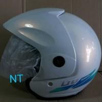 Helm LTD Putih Mutiara