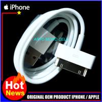 Kabel Data iPhone 4/4S/4G/4C/3GS iPad 1,2,3 iPod Apple ORIGINAL OEM