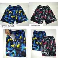 Celana badminton Y144 biru & merah celana bulutangkis dewasa