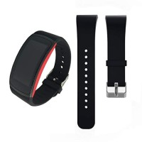 Strap Silicone Watch Band Replacement for Samsung Gear Fit 2 Pro R360