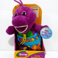 Boneka Barney Original Fisher Price Barney Bathtime Pal