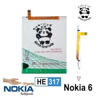 Baterai Nokia 6 4G Lte HE317 Double IC Protection