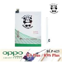 Baterai Oppo F3 Plus R9S Plus BLP623 Double IC Protection