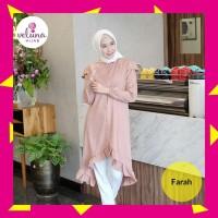 Promo Farah Tunik - 941 - Fashion Muslim - Atasan Tunik - Baj Diskon