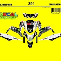 stiker motor sticker decal yamaha xeon 391 DECAL NATION