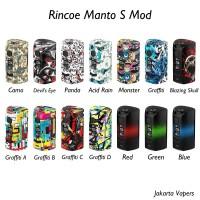 Rincoe Manto S Mod Box 228 Watt 100% Authentic From Rincoe - Best MOD