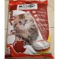 Pasir Kucing MARKOTOPS 25 L Cat Litter Gumpal bkn Kawan Maxi Cub n Kit - Lemon