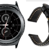 Samsung Gear S2 Classic - Replacement Genuine Leather Strap