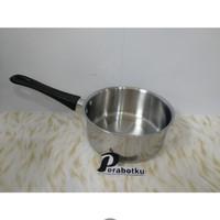 Saucepan Stenlis 16 Cm / Panci Susu Gagang Stainless