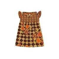 Dress Batik Anak Model Sabrina Size XL/Terusan Anak/Gaun Batik