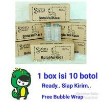 Botol Asi Kaca 100 ml - 1 box isi 10 botol - Botol Kaca Asi - Vial