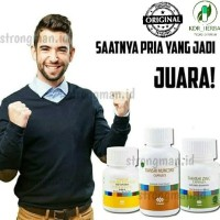 Obat Stamina Pria Ampuh Tiens Muncord+Vitaline+Zinc|Obat Tahan Lama
