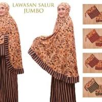 Promo Murah Mukena Bali Jumbo Premium Batik Lawasan - Hitam Promo