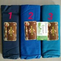 Best Seller Sarung Wadimor Polos Warna Khusus Biru Grosir/Ecer Murah