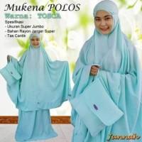 Best Seller Mukena Jannah Polos - Putih Promo Murah