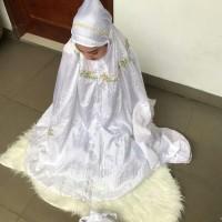 Promo Murah Promo Mukena Parasut Avanza Bordir Putih Termurah