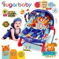 Bouncer Sugar Baby 10 in 1 Wooden Folks