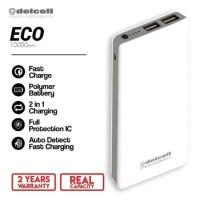 Powerbank Delcell Eco 10000 Mah - Garansi 1 Tahun - ORIGINAL