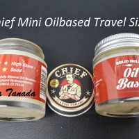 Pomade Chief Mini Red Merah Oilbased 1.2 Oz Travel Size (FREE SISIR)