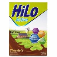 Susu Hilo Active Chocolate Susu Hi Lo Active Chocolate 750gr / 750 gr