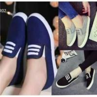 Sepatu Slip On Pria Wanita Jeans Sepatu Kasual Olahraga Anak Cewek Cwo