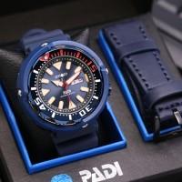 jam tangan SEIKO PADI MAN RUBBER FREE KULIT
