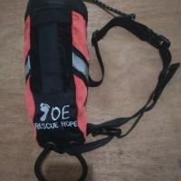 throwing bag tali lempar rescue bag 20m joe adventure rafting tubing