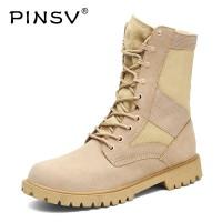 Sepatu Pinsv Sepatu Bot Militer Pria Taktis Sepatu Tinggi Atas