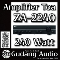 Amplifier TOA ZA-2240 (240watt)