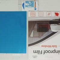 Rainproof Film Stiker Pelindung Kaca Samping Luar Mobil 200mm x 175mm
