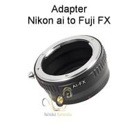 Adapter Nikon ai-Fuji Fx