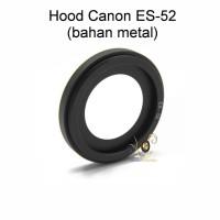 Metal Hood Canon ES-52 for Canon EF-S 24mm F2.8 STM EF 40mm f/2.8 STM