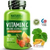 NATURELO - Vitamin C (with Organic Acerola Cherry) - 90 capsules