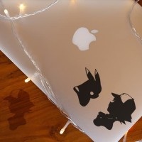 Decal Sticker Macbook Stiker Pikachu Satosi Ash Pokemon Laptop