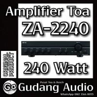 Amplifier TOA untuk masjid ZA-2240 (240watt)
