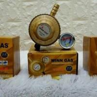 Regulator Winn Gas 998 Meter