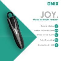 Onix Mono Bluetooth Headset Joy - Ergonomic Design