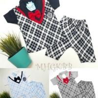 Baju Setelan Tuxedo Anak Bayi Laki laki Setelan Rompi Sweater School