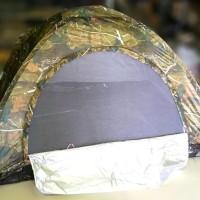 Promo tenda camping motif camo perbakin kapasitas 4 orang