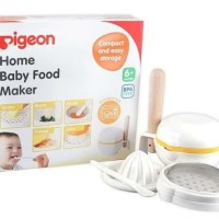 Pigeon Home Baby Food Maker / Food Cooking Set / Alat MPASI